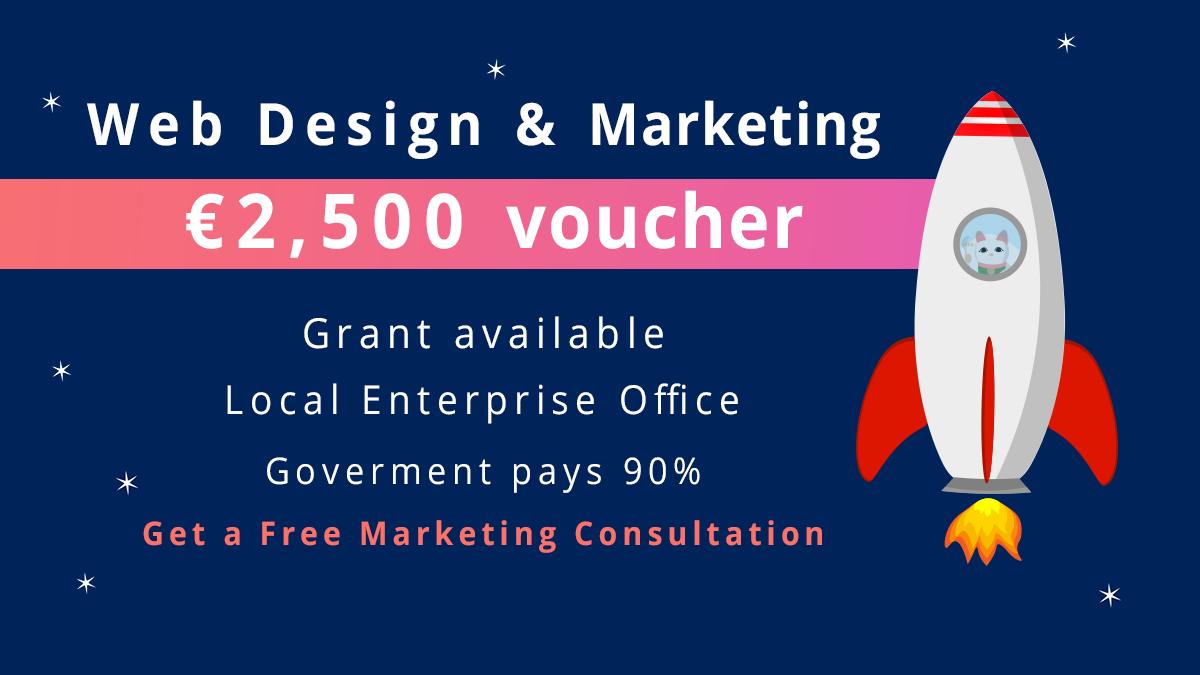 Local Enterprise Office Grants Vouchers for Web Design and Marketing